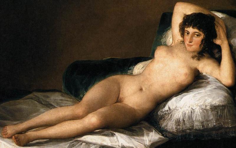Francisco de Goya, La Maja Desnuda, 1797