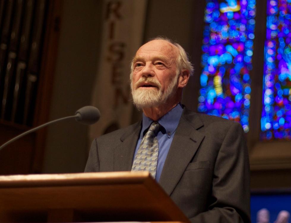 Pastor Eugene Peterson