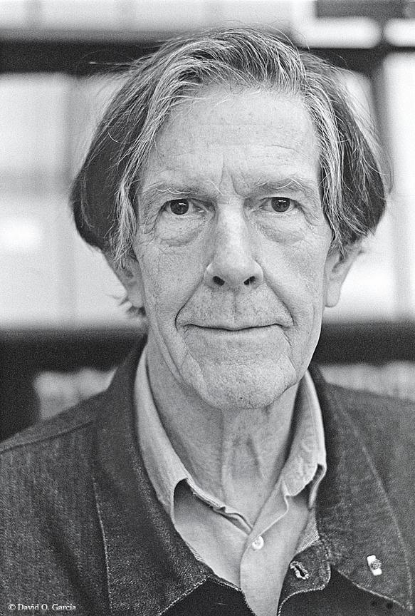 Composer John Cage by <a href='http://www.flickr.com/photos/david_o_garcia/'target='_blank'>David O. Garcia</a>