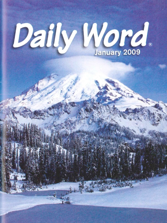 a 2009 issue of <i>Daily Word</i>